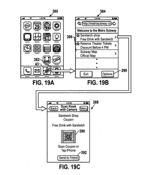 Apple Coupon Patent